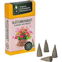 Crottendorfer Räucherkerzen  -  Flowers and Fruits  -  Blütenbouquet