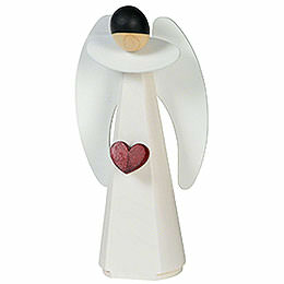 Dekofigur Engel mit Herz  -  11cm