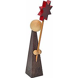Dekofigur Kurrende mit Stern  -  11cm