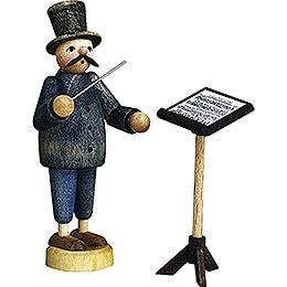 Dirigent mit Notenständer  -  7cm