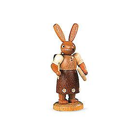 Easter Bunny School Girl  -  11cm / 4 inch