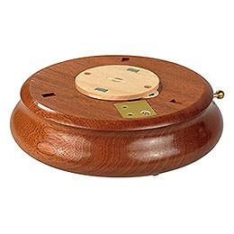 Elektronische Spieldose mit Bluetooth - Soundelektronik und IR - Barcodeleser  -  6cm, ø 18cm