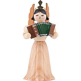 Engel mit Akkordeon  -  7cm