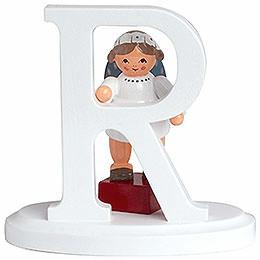 """Engelbuchstabe """"R""""  -  7cm"""