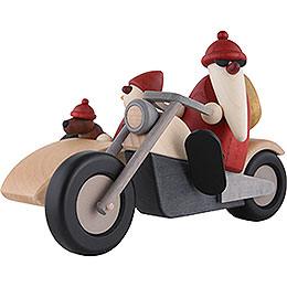 Familienausfahrt auf Motorrad  -  11cm