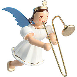Floating Angel Colored, Slide Trombone  -  6,6cm / 2.6 inch