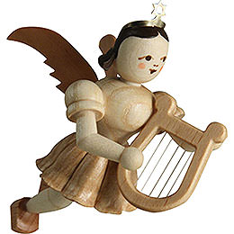 Floating Angel Lyre, Natural  -  6,0cm / 2.4 inch