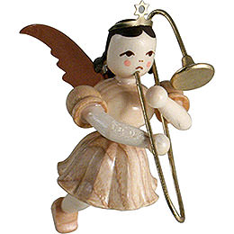 Floating Angel Slide Trombone, Natural  -  6,6cm / 2.6 inch