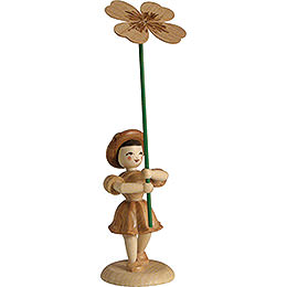 Flower Child Clover, Natural  -  12cm / 4.7 inch