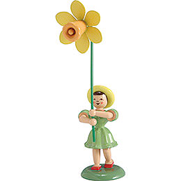 Flower Child Daffodil, Colored  -  12cm / 4.7 inch