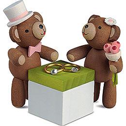 Glücksbärchen Hochzeit  -  3,5cm