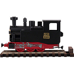 HUSS I K Scent Train Black -  10,5cm / 2 inch