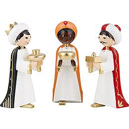 Heilige 3 Könige farbig  -  7cm