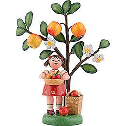Herbstkinder Jahresfigur 2018 Apfel  -  13cm