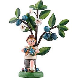 Herbstkinder Jahresfigur 2019 Pflaume  -  13cm