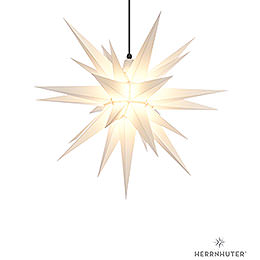 Herrnhuter Moravian Star A7 White Plastic  -  68cm/27 inch