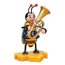 Hummel mit Tuba  -  8cm