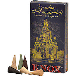Knox Incense Cones  -  Dresden Christmas Fragrance Mix