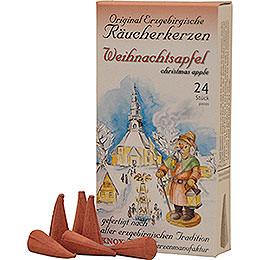 Knox Incense Cones  -  Original Ore Mountain Incense Cones  -  Christmas Apple