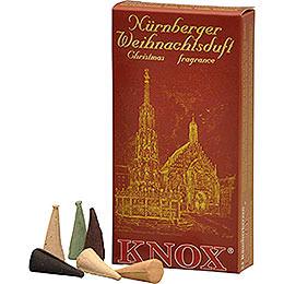 Knox Räucherkerzen  -  Nürnberger Weihnachtsmischung