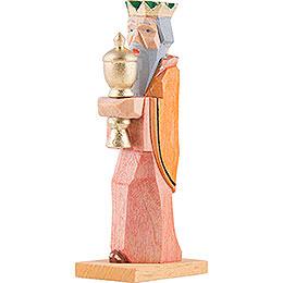 König mit gelben Umhang  -  6,8cm