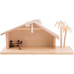 Krippenhaus klein  -  15cm