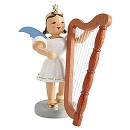 Kurzrockengel farbig Harfe  -  6,6cm