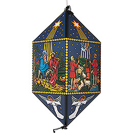 Lantern  -  Nativity Scene  -  40cm / 15.7 inch