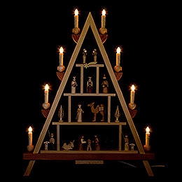 Light Triangle  -  Nativity  -  55x68cm / 21.7x26.8 inch