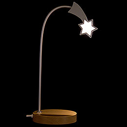 Lighted Star  -  Natural  -  KAVEX - Nativity  -  32cm / 12.6 inch