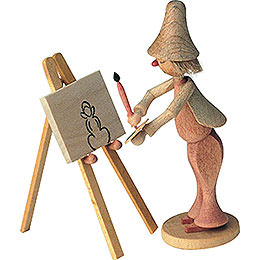 Maler Klecksel  -  8cm / 3 inch