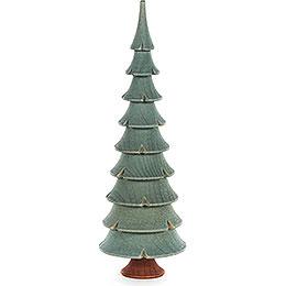 Massivholzbaum grün  -  17,5cm