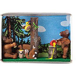 Matchbox  -  Bear Cubs  -  4cm / 1.6 inch