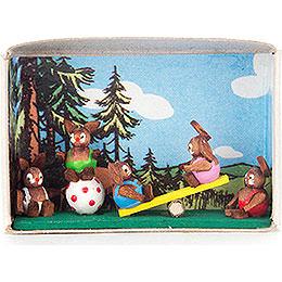 Matchbox  -  Bunny Children  -  4cm / 1.6 inch