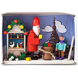 Matchbox  -  Christmas Time  -  4cm / 1.6 inch