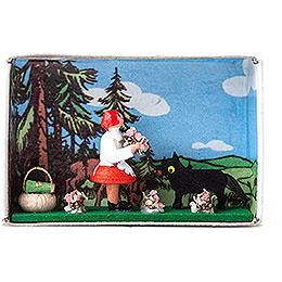 Matchbox  -  Red Riding Hood  -  4cm / 1.6 inch