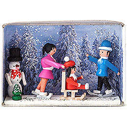 Matchbox  -  Winter Holidays  -  4cm / 1.6 inch