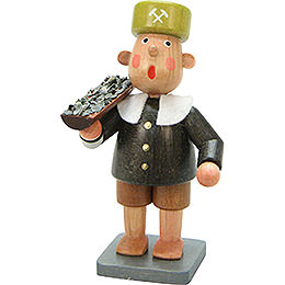 Miner Bengelchen with Car  -  6,5cm / 3 inch