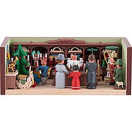 Miniaturstübchen Spielzeugladen  -  4cm