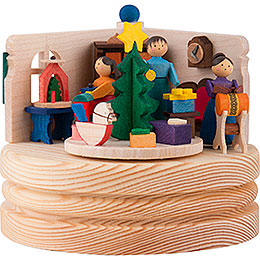 Music Box Christmas Snuggery  -  8,5cm / 3.3 inch