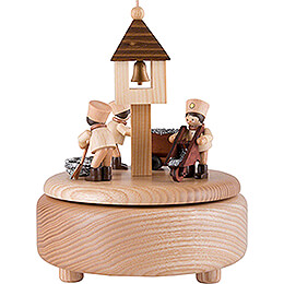 Music Box  -  Miners at Work  -  13cm / 5.1 inch