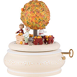 """Music Box """"The old Apple Tree in Spring""""  -  18cm / 7.1 inch"""