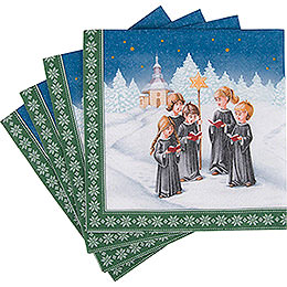 Napkins Carolers  -  20 pcs.