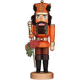 Nussknacker Herbstkönig lasiert  -  37,5cm