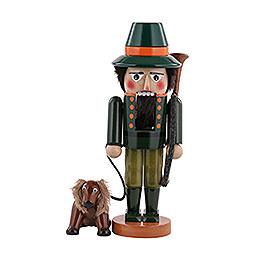 Nussknacker Jäger mit Hund  -  35cm