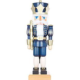 Nussknacker König blau  -  73,0cm