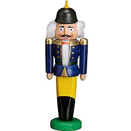Nussknacker Soldat blau  -  9cm