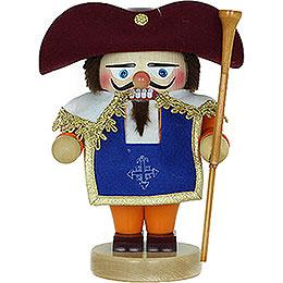 Nussknacker Troll Portos The Noble Musketeer mit Musket  -  24cm
