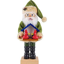 Nussknacker Weihnachtsmann Vogelfreund  -  46,5cm