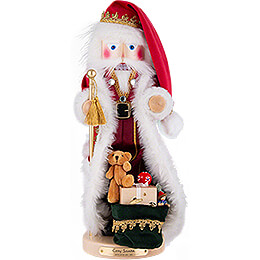 Nutcracker  -  Cozy Santa with Music  -  49cm / 19.3 inch